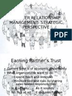 Partner Relationship Management- Strategic Perspective