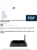 D Link DSL 2730 U WiFi Modem Configuration Guide for BSNL _ MTNL