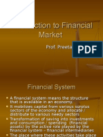 Introduction to Financial Market