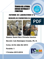 Informe 2 Daniel Petroche