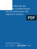 Efectividad de Las Terapias Conductuales en Los Transtornos Del Espectro Autista