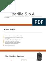Group 7 Barilla