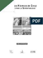 RECURSOS HÍDRICOS EN CHILE DESAFÍOS PARA LA SUSTENTABILIDAD