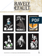 Bravely Default AR Cards
