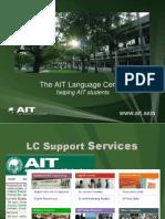12013 August Language Center Orientation