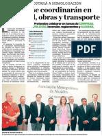 Alcaldes se coordinarán en seguridad, obras y transporte