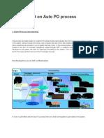 Auto PO Process - SAP