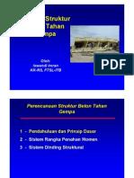 Konsep Struktur Beton Tahan Gempa