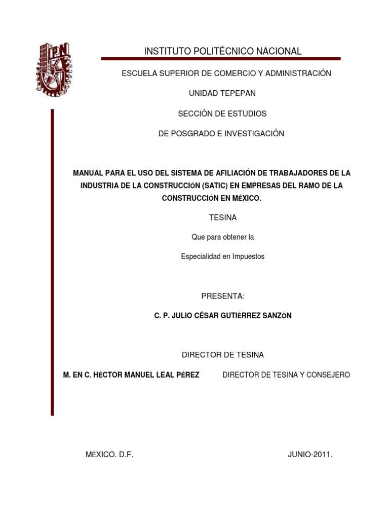 3. Manual SATIC empresas de Construcción.pdf