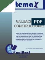 valuacion construcciones