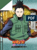 Bandai Naruto TCG Rulebook