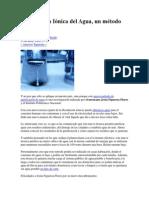 Purificación Iónica Del Agua