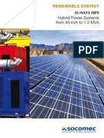 SOCOMEC SunSys UPS Solar
