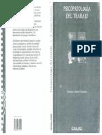 Psicopatologia Del Trabajo - Alonso Fernandez
