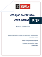 Material Completo - Curso Redacao Empresarial Para Docentes