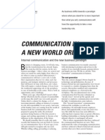1.12.Communication in a New World Order