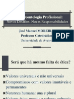 1 - Ética e Deontologia Profissional