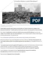 ¿Era necesario lanzar la bomba atómica contra Hiroshima? - BBC Mundo.pdf
