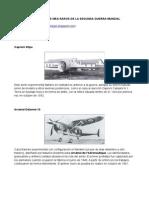 Los 20 aviones más raros de la Segunda Guerra Mundial