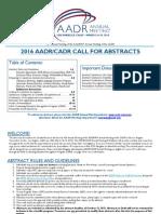 AADR Abstract 2015