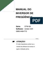 MANUAL INVERSOR DE FREQUÊNCIA CFW 08