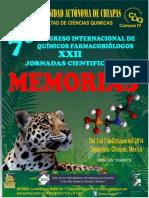 7° Congreso Internacional de QFB y XXII Jornadas Cientificas
