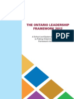 The Ontario Leader Ship2012