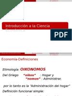 1.Introduccion a La Ciencia Economica
