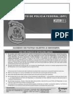Caderno de Prova DPF Agente