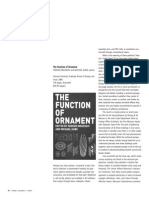 Jonathan Massey Review of the Function of Ornament by Farshid Moussavi and Michael Kubo Journal of Architectural Education 62.1 (Septe