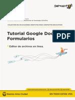 Tutorial de Google Formularios Drive