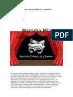 Mamma Mía - Libreto Teatral Completo (México)