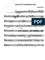 IMSLP52015 PMLP107833 Capriccio for Trombone Solo