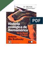 La Historia Ecologica de Iberoamerica- Brailovsky