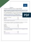 Colorado Clean Power Plan Survey Topline Results 081115