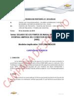 Btpv 2013_050_gc - Sellado de Los Puntos de Masa y Limpieza Del Conector Del Abs - s10 Trailblazer