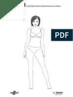 Ficha Para Estudo Bidimensional Da Forma Feminino