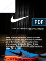 Ethics presentation about nike