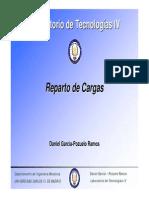 Cálculo de Reprato de Cargas en Vehículos Comerciales