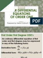 De Chap 2 LDE of Order One