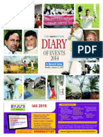 The Hindu Diary of Events 2014-2015