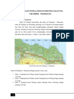 Kunjungan Studi Lapangan Proyek Jalan Tol Cikampek
