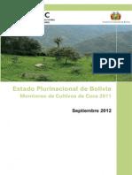 Bolivia Coca Survey 2011