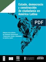 6. Estado, Democracia y Construcción de Ciudadanía