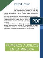 Disertacion Logistica Primeros Auxilios