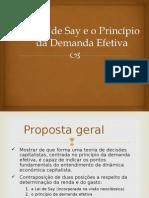Aula 2-A Lei de Say e o Princípio Da Demanda Efetiva