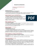 Cronograma Derecho Procesal Penal UNS Comisión B 2015 (1)