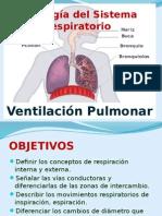 Fisiología Del Sistema Respiratorio. Mecánica Ventilatória, II Medicina