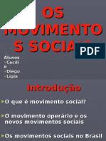 Os Movimentos Sociais