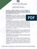 Ordenanza 03_2013_estructura Sistema Educativo RD